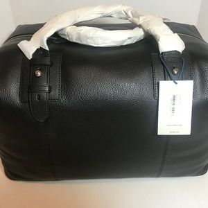 Cole Haan Pebbled Leather Duffle BNWT